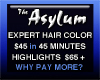 Asylum Hair Salon, The