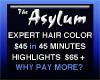 Asylum Hair Salon, The